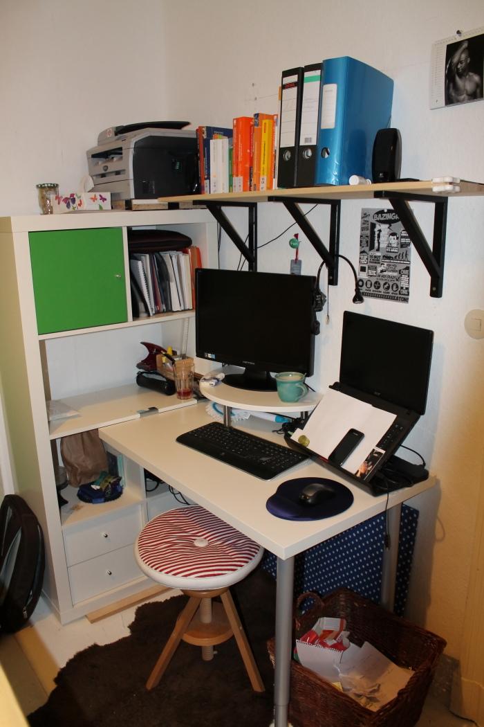 ikea expedit desk very hacky in berlin 10m full of storage ikea hackers ikea