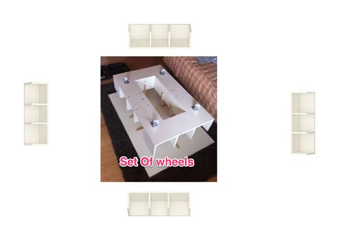 Lillangen end unit as coffee table with storage ikea hackers ikea hackers - Ikea nantes adresse gps ...