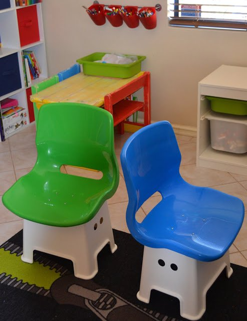 Funky kids chairs