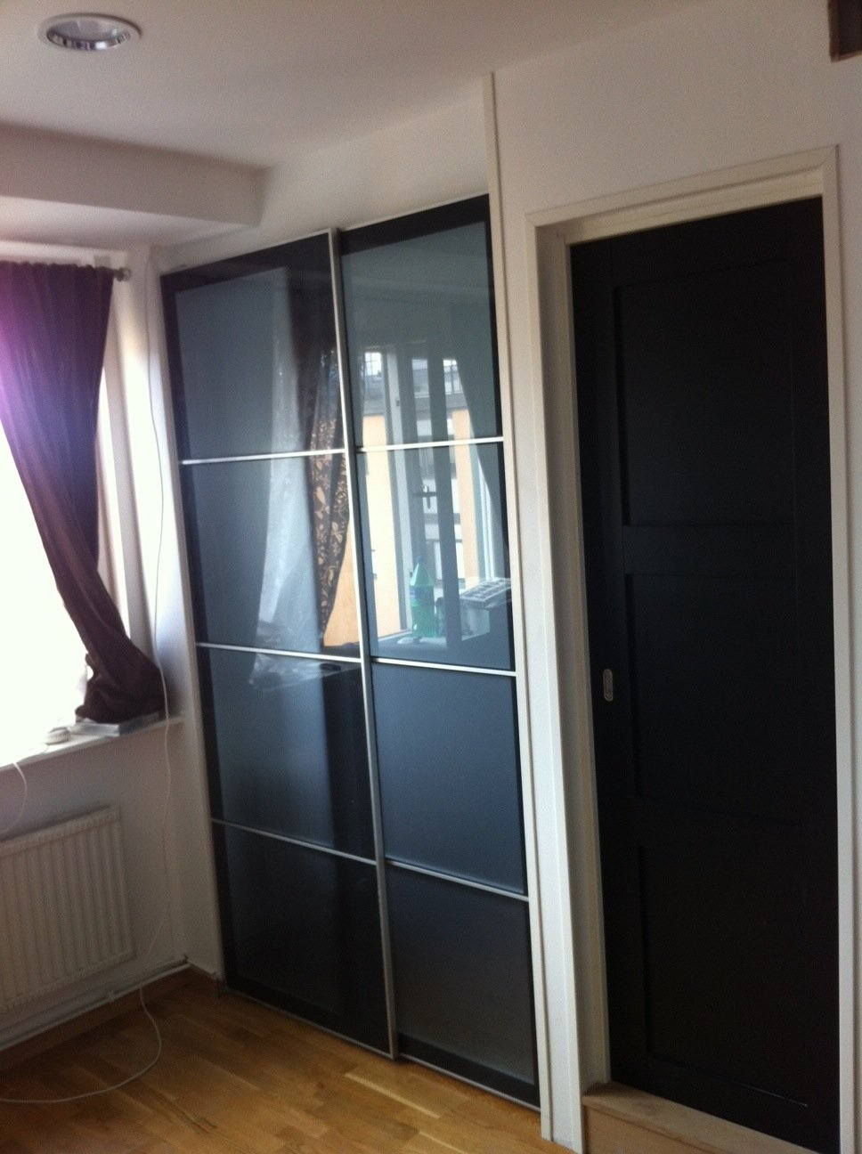 Sliding doors ikea all about home ideas best sliding doors ideas - Ikea Sliding Door For Sleeping Alcove Tight Spaces