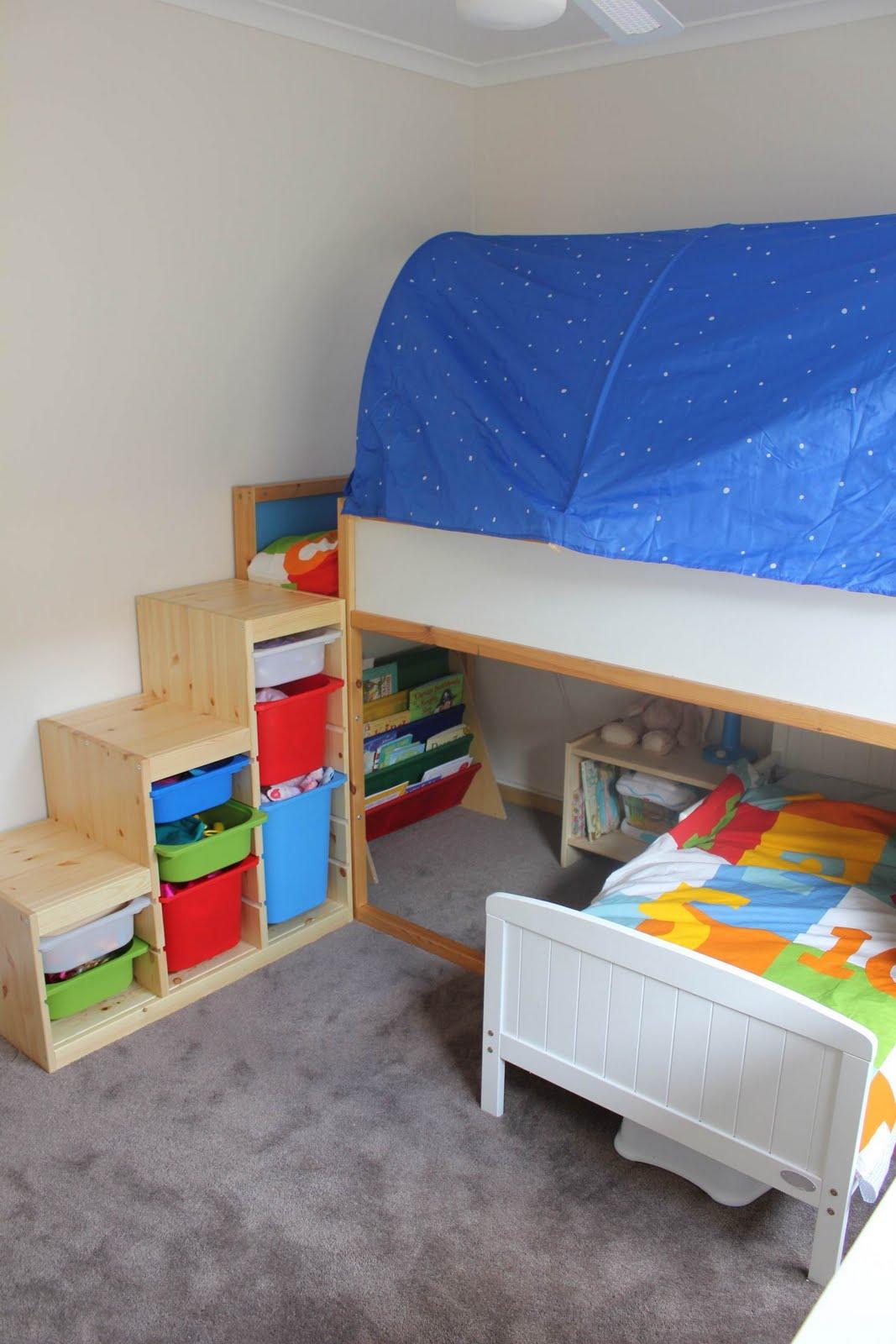 Trofast as bunk bed steps. Ladder into steps   IKEA Hackers   IKEA Hackers