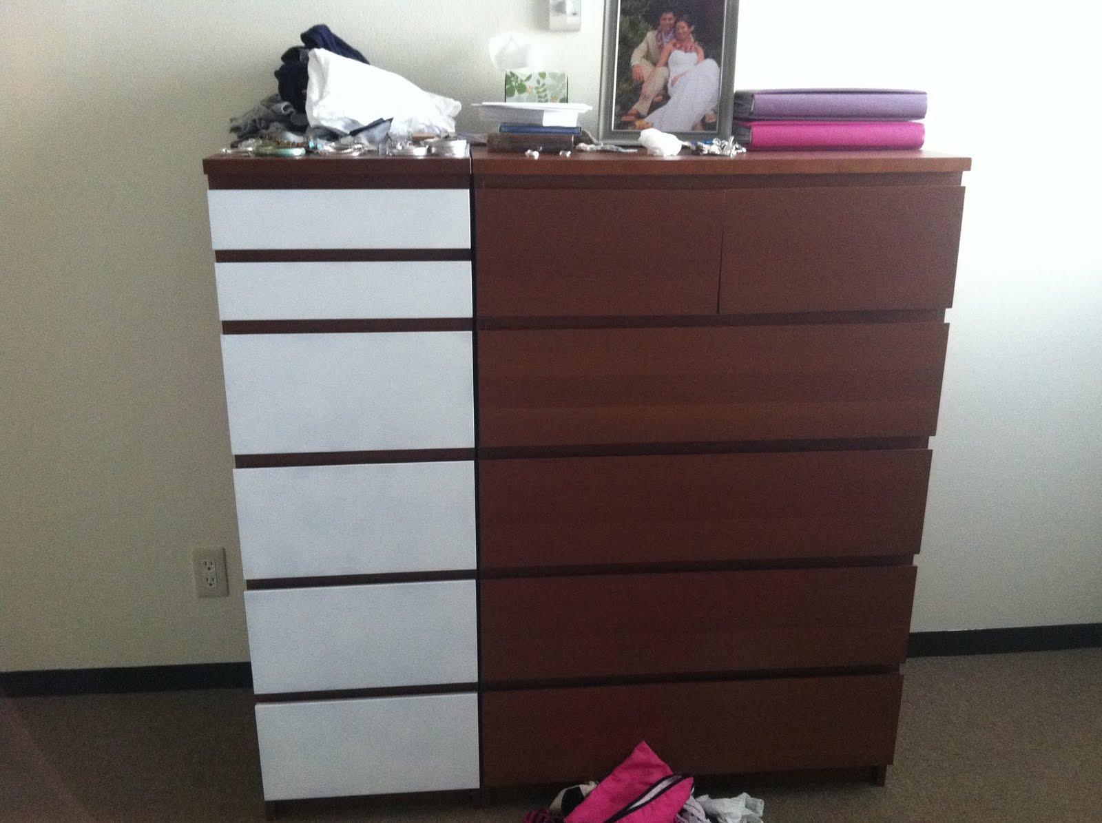 IKEA Malm Dressers