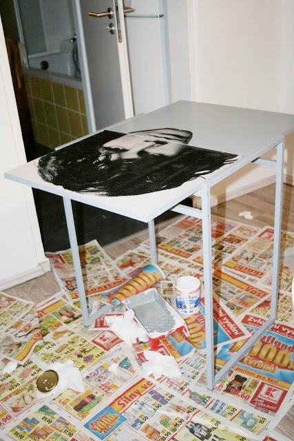 Jim Morrison table