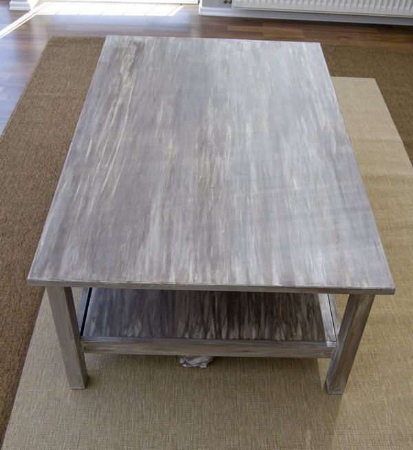 DIY Painted driftwood Table IKEA Hackers