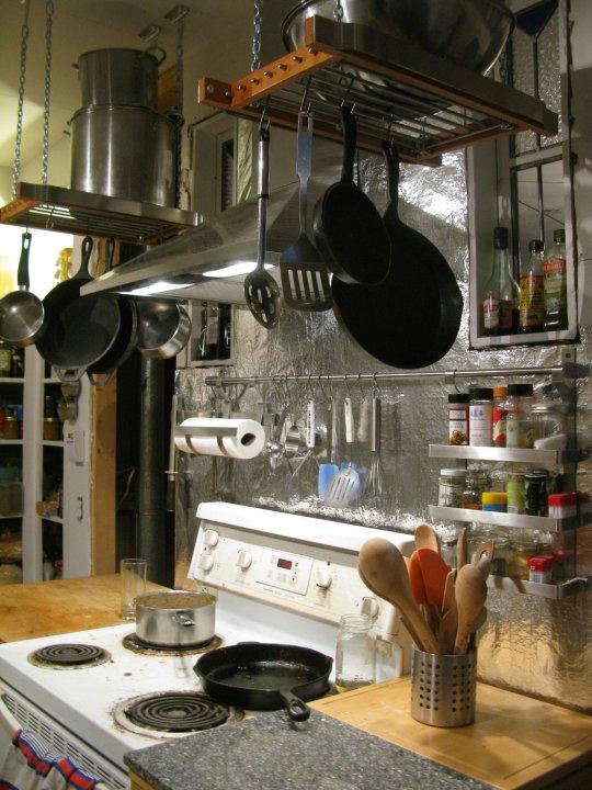 Hanging Pot Rack Hack Ikea Hackers