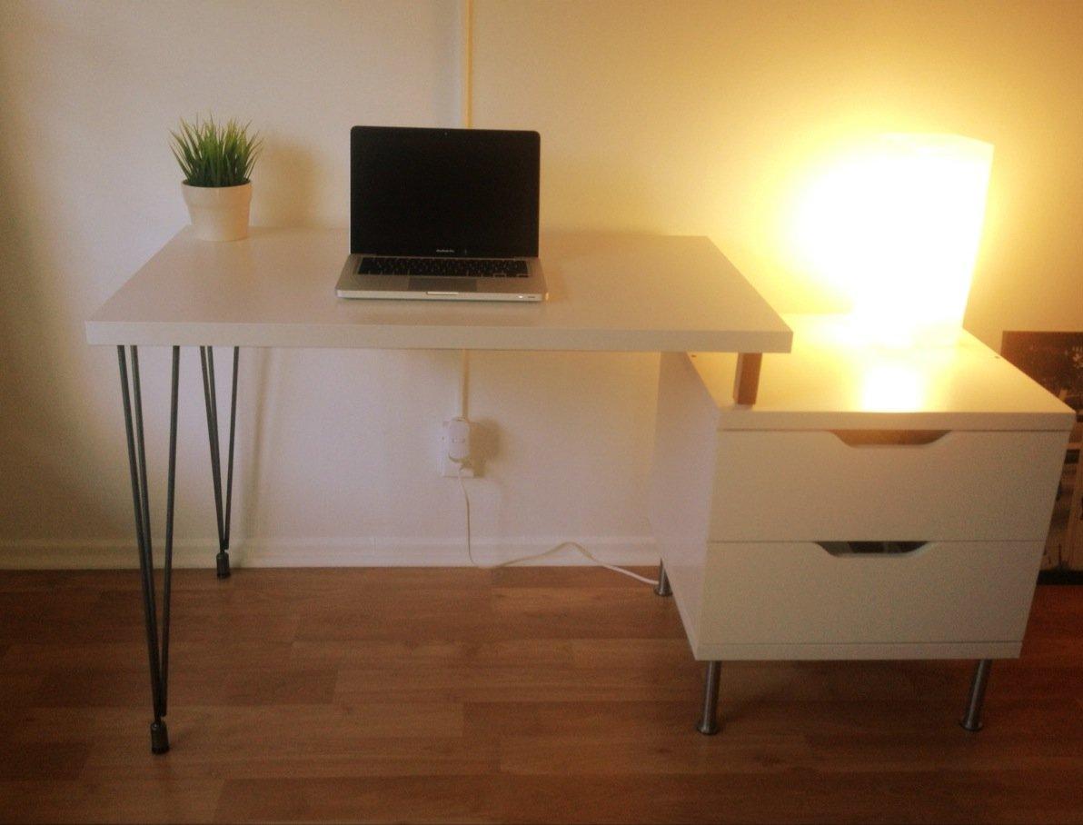 Ikea Sofa Legs Interchangeable ~ Stolmen Hairpin Leg Desk  IKEA Hackers  IKEA Hackers