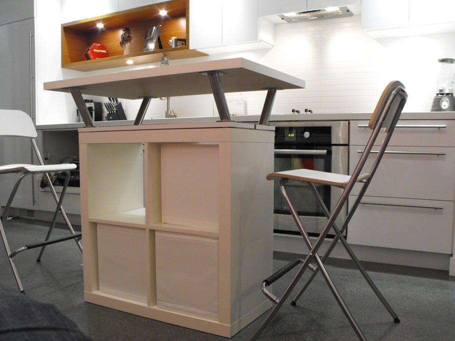 Ikea Faktum Schublade Justieren ~ EXPEDIT Mobile Island  IKEA Hackers  IKEA Hackers