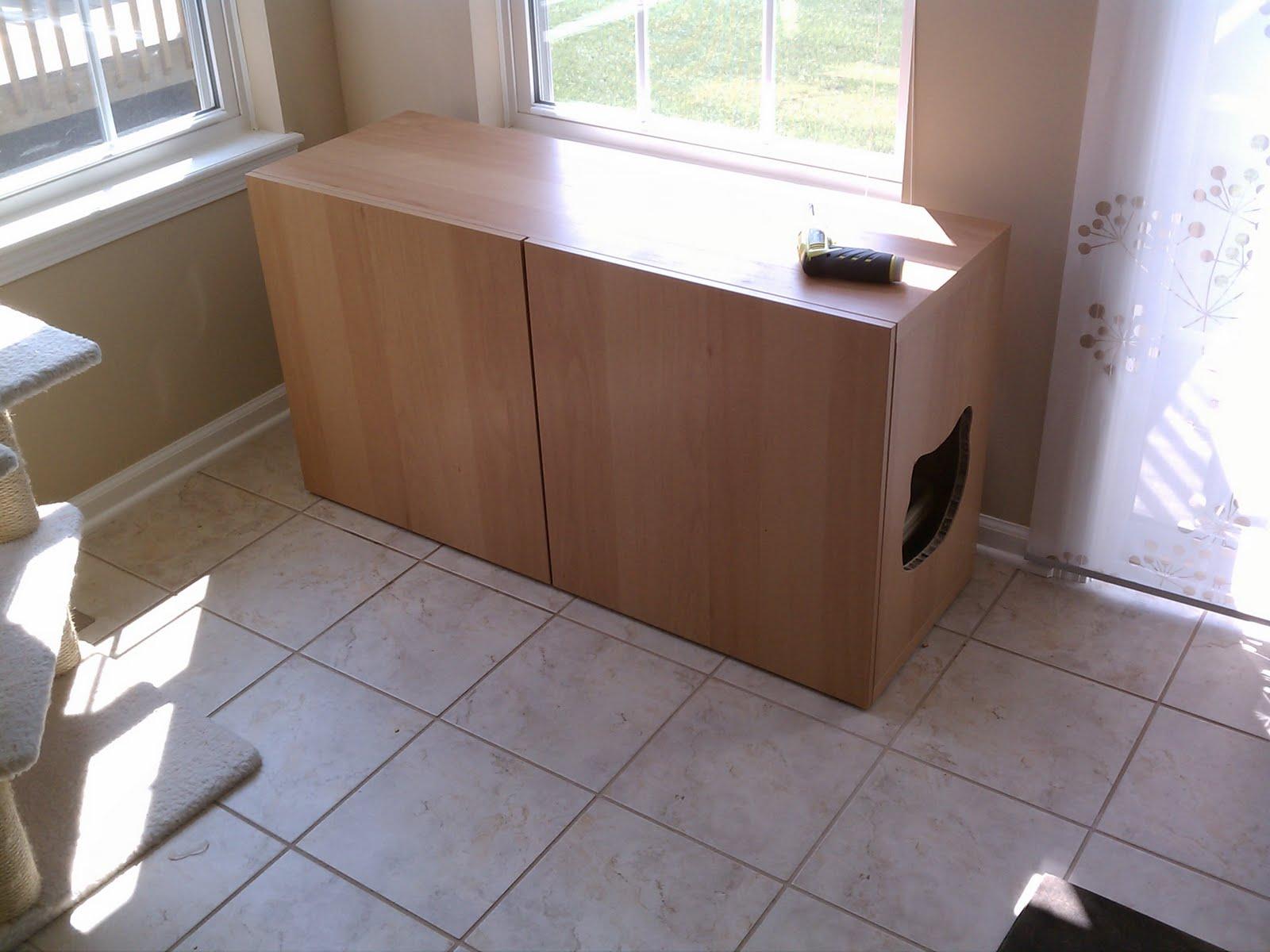 Besta Litter Box Cabinet