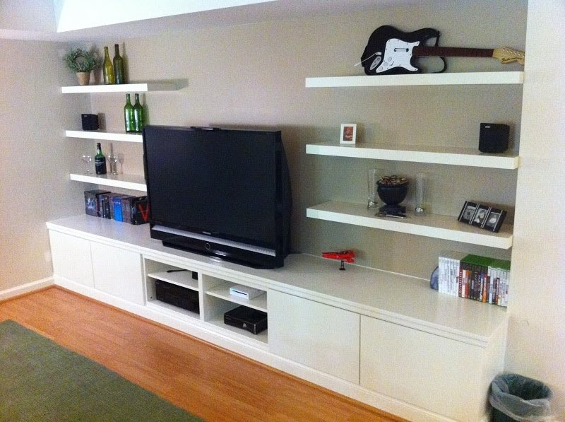 Ikea Hackers Meuble Tv : Built In Besta Home Theater – Ikea Hackers – Ikea Hackers