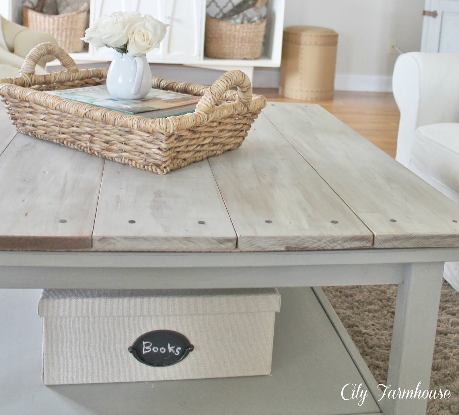 Hemnes Beautified Barnboard Coffee Table IKEA Hackers IKEA Hackers