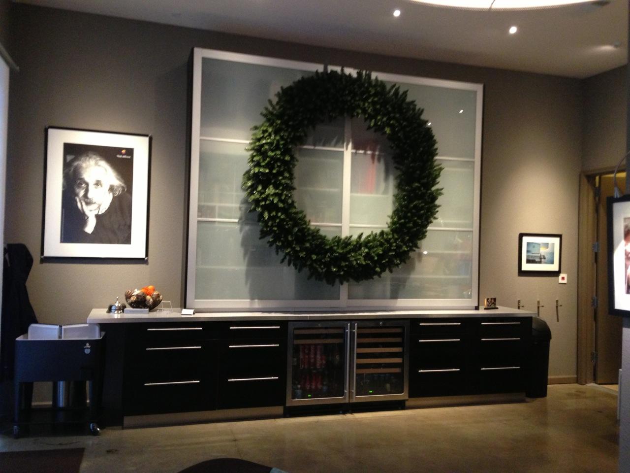 Entertainment Storage In Design Studio