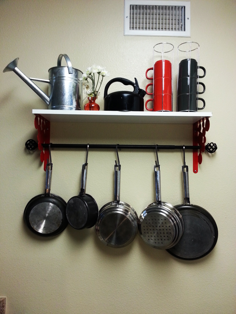 Ikea Grundtal Magnetic Spice Containers ~ Ikea Pot Rack Hack  IKEA Hackers  IKEA Hackers