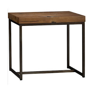 materials lack side table metal frame