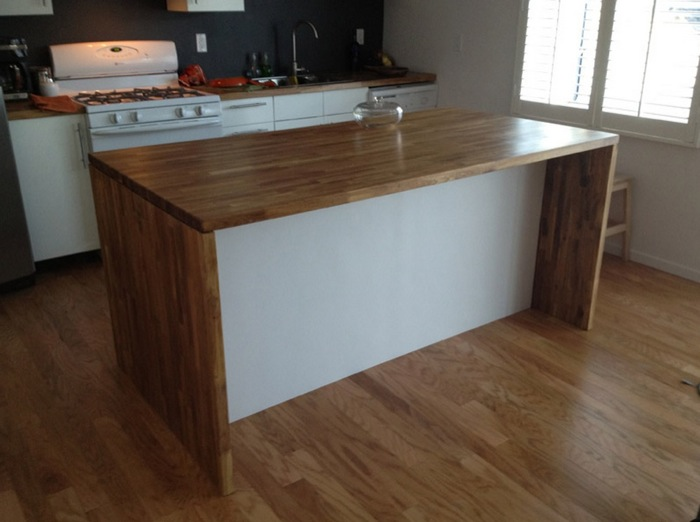 Malm Meets Numerar Kitchen Island