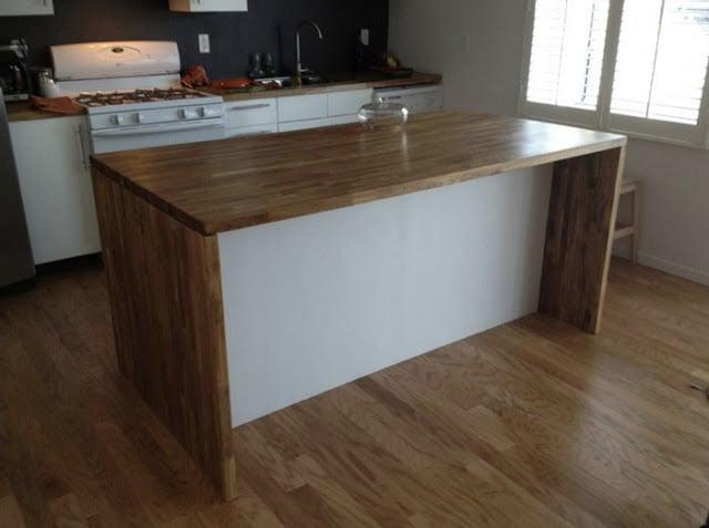 イケアの家具を使って調理台