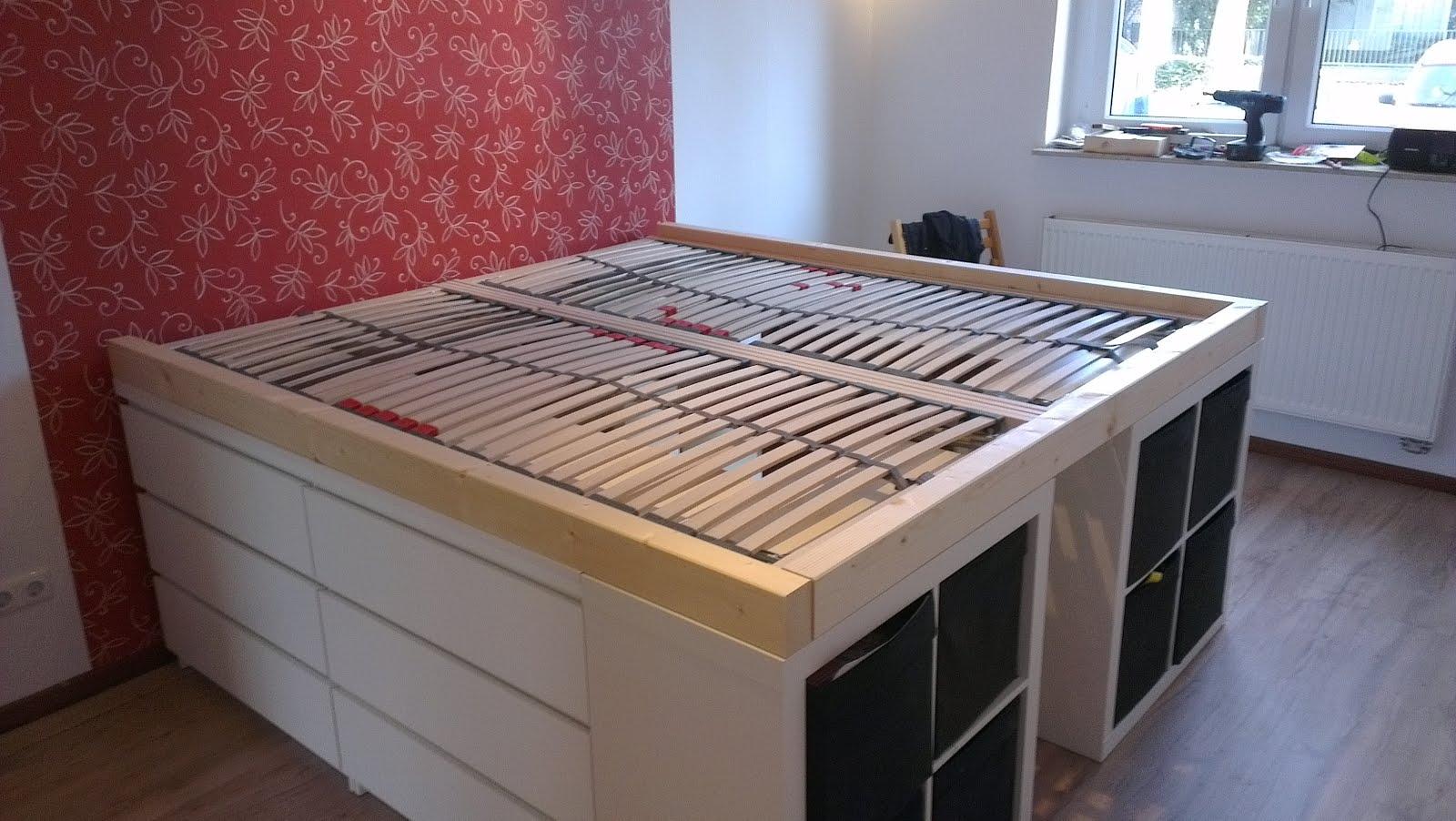 Storage Bed Storage Bed Ikea Hack