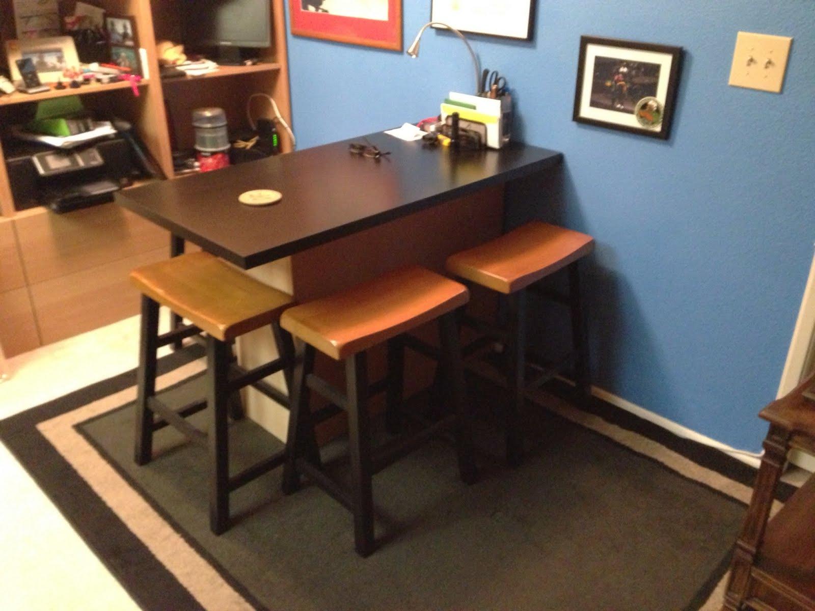 Breakfast Bar Home Office Desk
