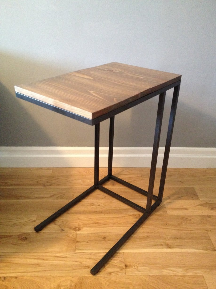 Vittsjo Laptop Table To Upscale Side Ikea Hackers