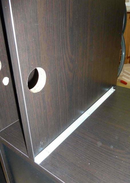 Expedit TV audio corner