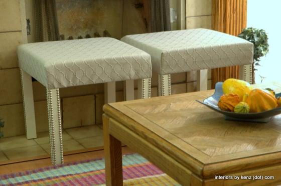 IKEA LACK side table ottoman