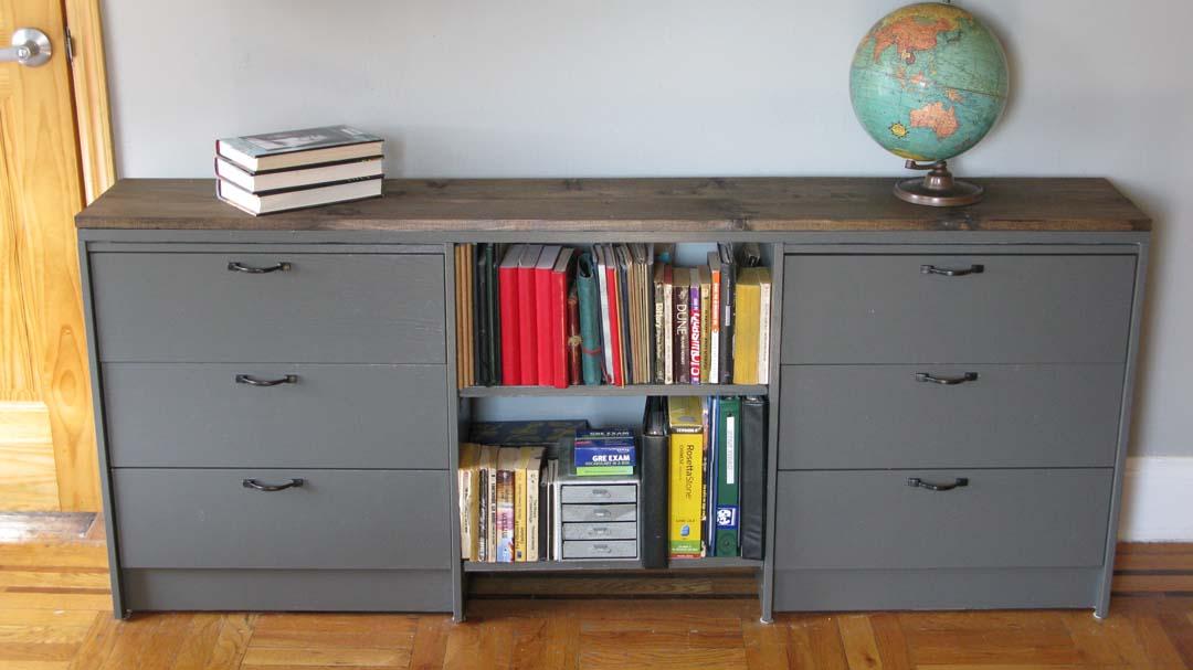 Martha Stewart Living Craft Furniture Materials: Rast Dressers, paint, wood stain, wood filler, drawer ...