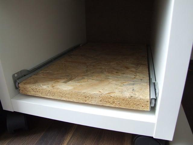 mATX computer in a MICKE drawer unit