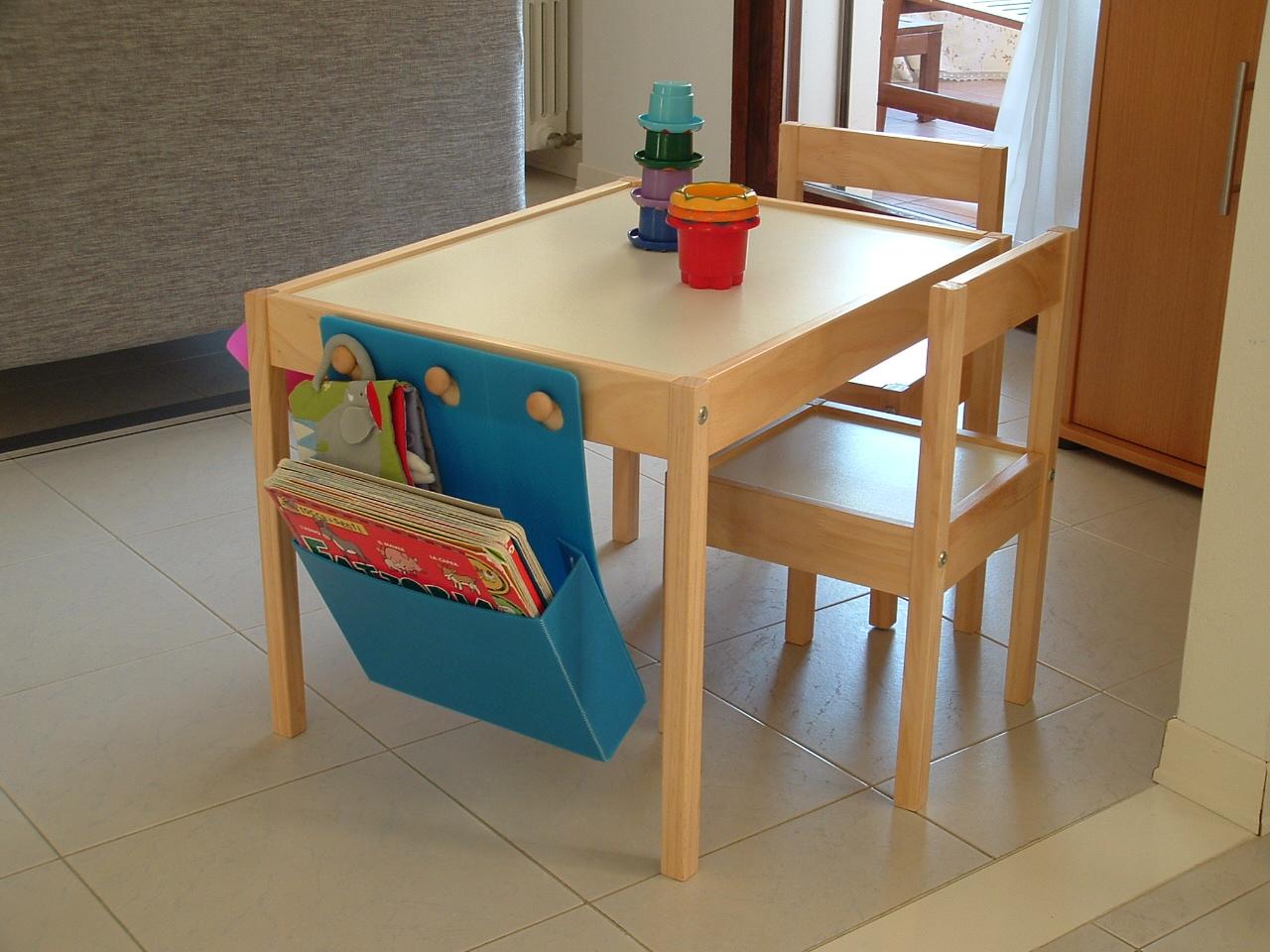 Latt table equipped - IKEA Hackers - IKEA Hackers