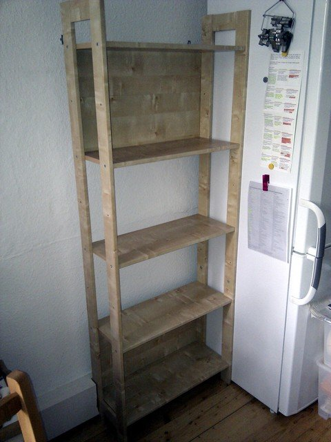 To fix these two issues, we bought a second LAIVA shelving unit. - Two Make One: LAIVA Reloaded - IKEA Hackers - IKEA Hackers