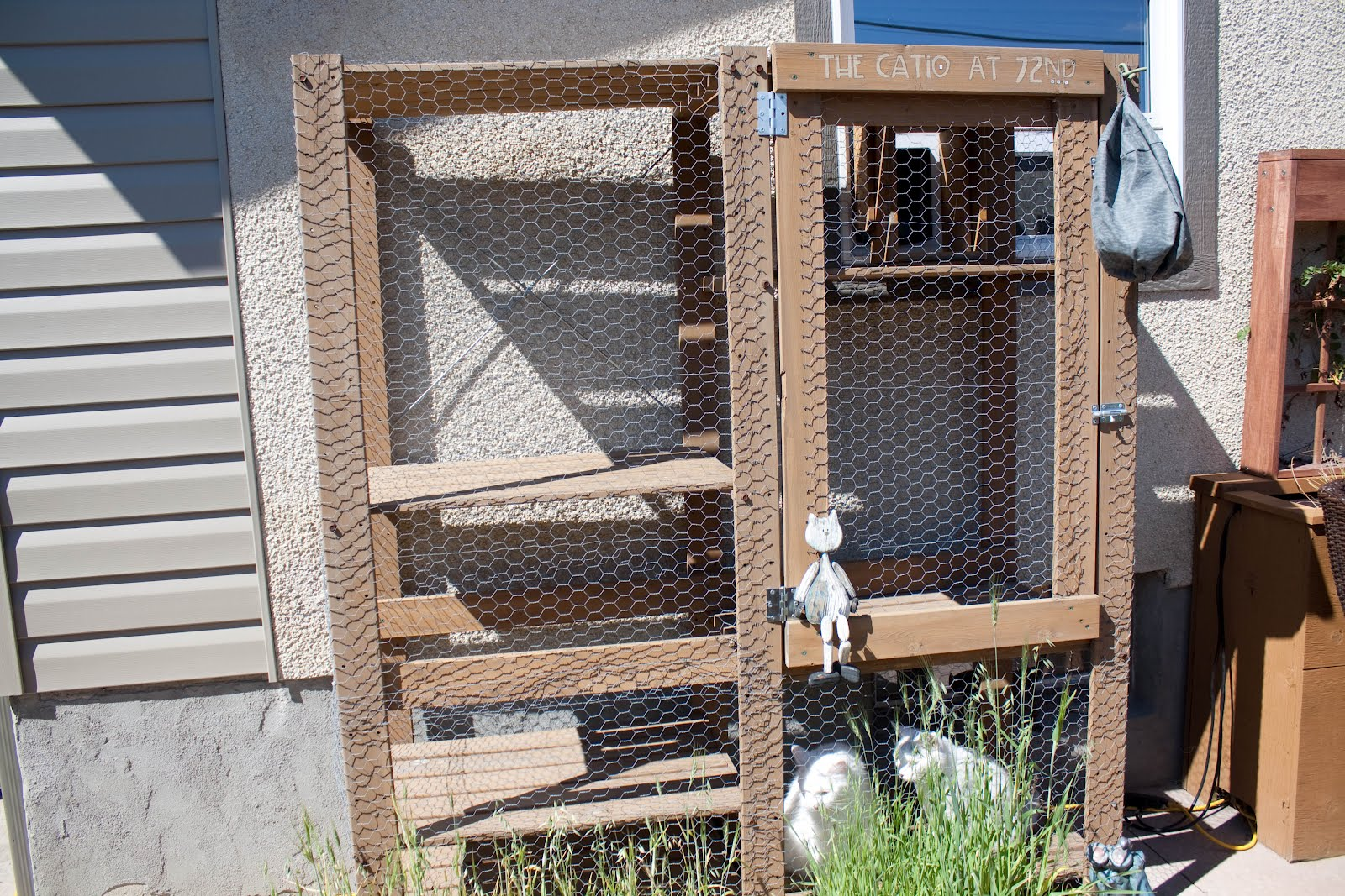 Make Outdoor Cat House - Viewing Gallery