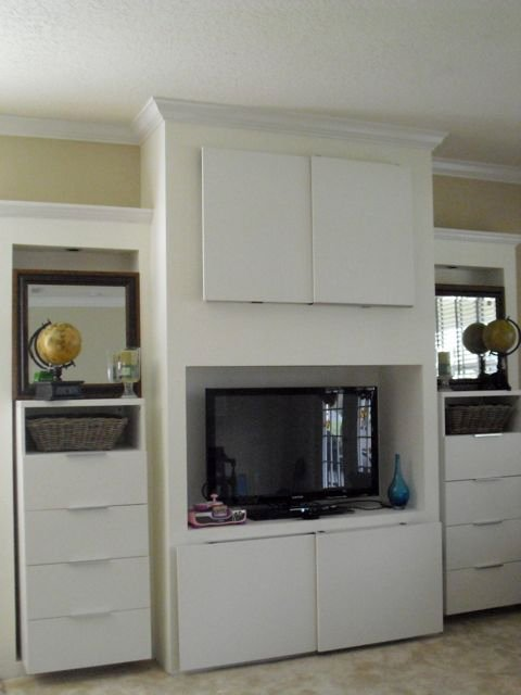 Built-in Entertainment Center