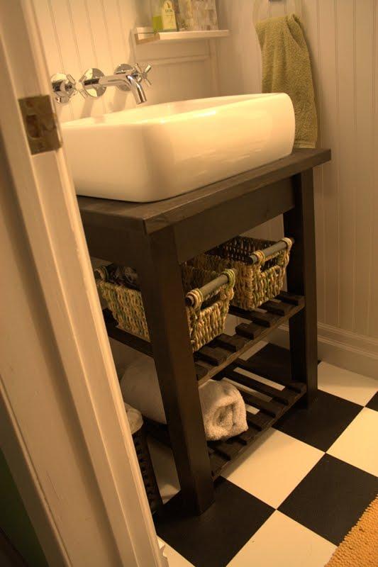 Bekvam Kitchen Cart Vanity - IKEA Hackers