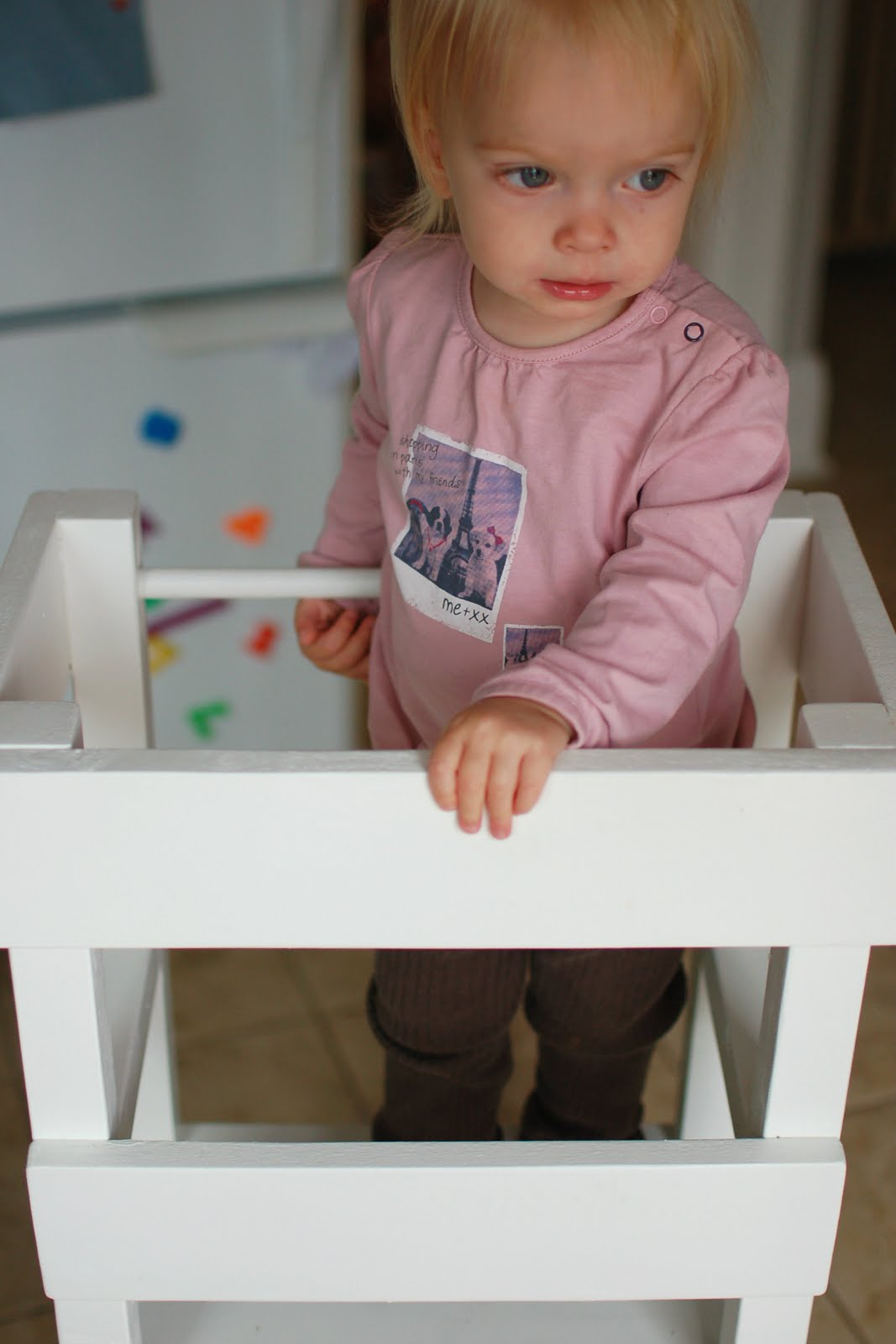 DIY learning tower IKEA hack
