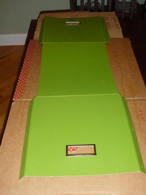 Mod Podge Kassett boxes
