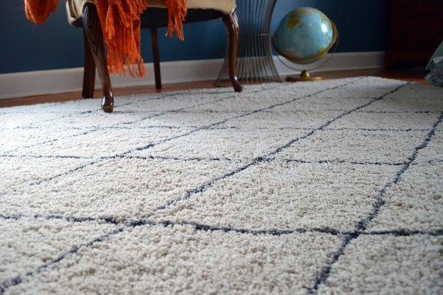 DIY a Beni Ouarain rug look alike