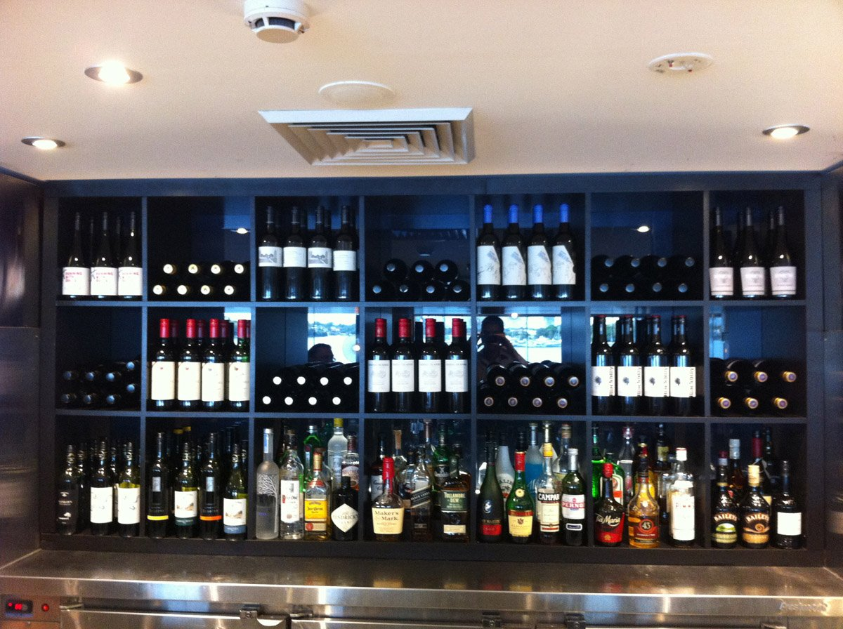 expedit back bar wine display ikea hackers ikea hackers