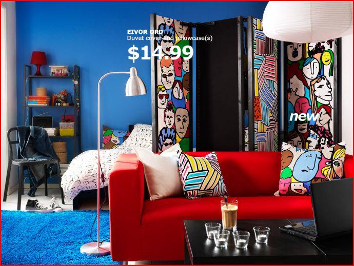 IKEA Ivar folding screen