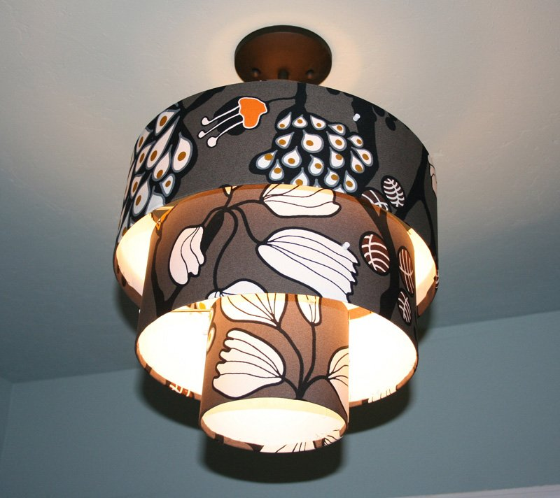 drum shade pendant light ikea hackers ikea hackers. Black Bedroom Furniture Sets. Home Design Ideas