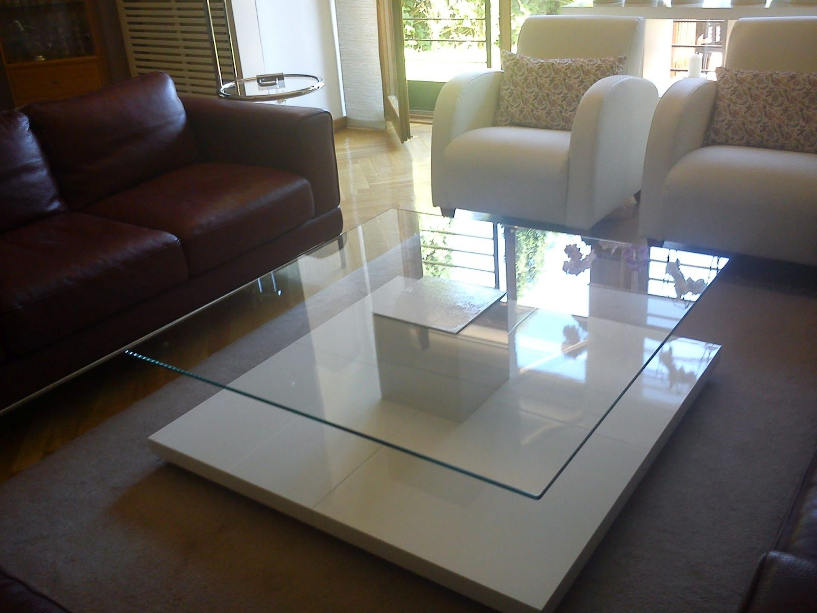 Four lack table base coffee table ikea hackers ikea hackers - Ikea table basse lack ...