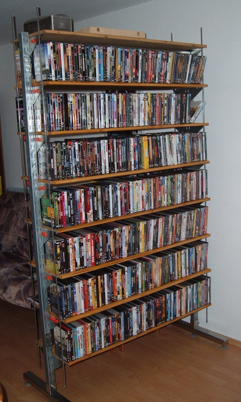 Broder DVD shelf - IKEA Hackers - IKEA Hackers
