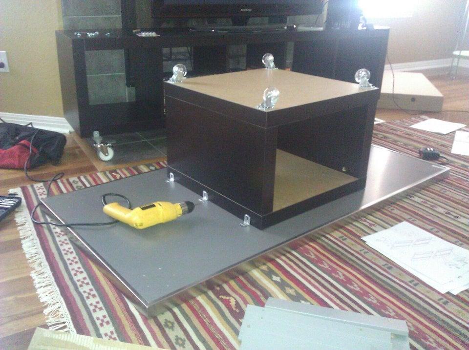 Best Stainless Steel coffee table