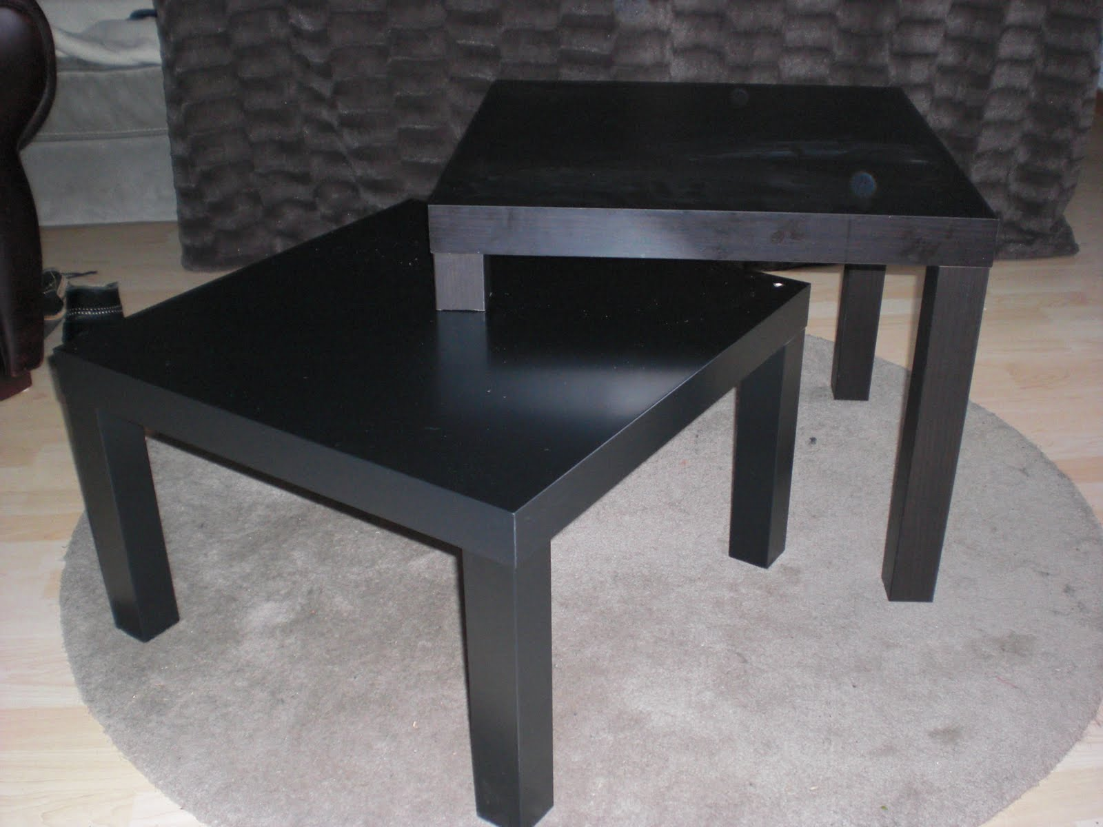 Double lack ikea hackers ikea hackers - Customiser table basse ikea ...