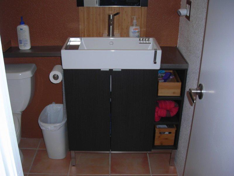 Ikea Corner Sink : Lillangen corner vanity hack - IKEA Hackers - IKEA Hackers