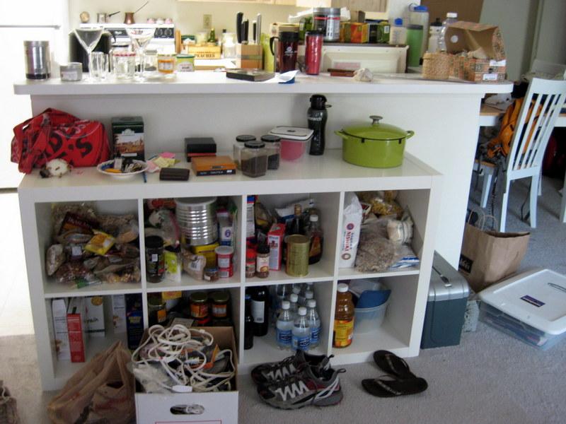 Expedit Kitchen Storage Hack