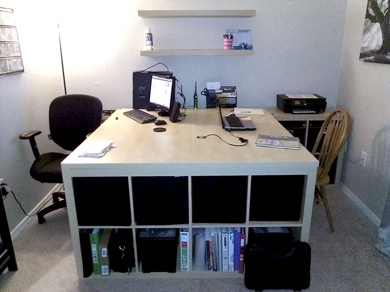 work play storage for two ikea hackers ikea hackers. Black Bedroom Furniture Sets. Home Design Ideas