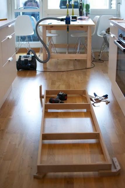 Minimalist Faktum/Akurum media furniture