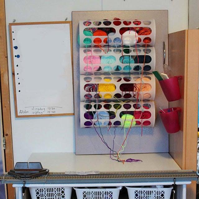 yarn station