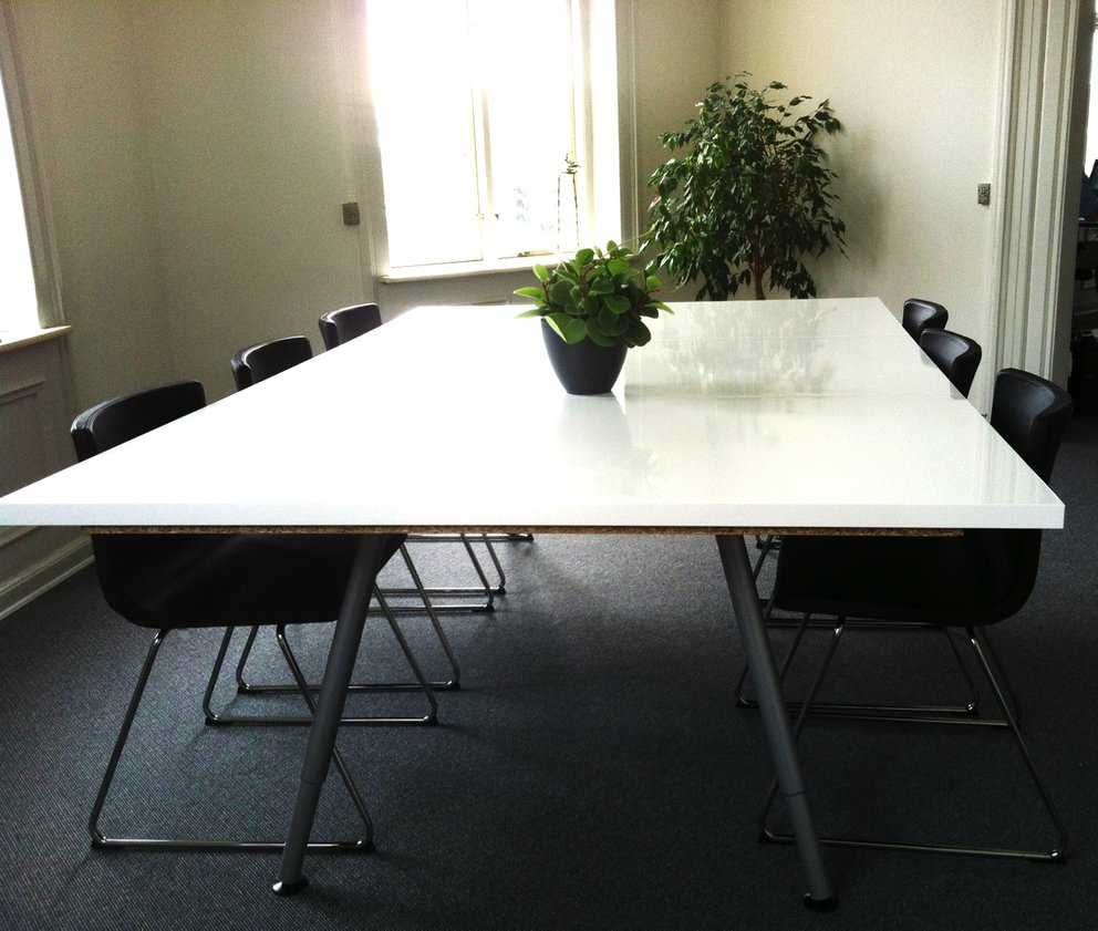 easy made conference table ikea hackers rh ikeahackers net