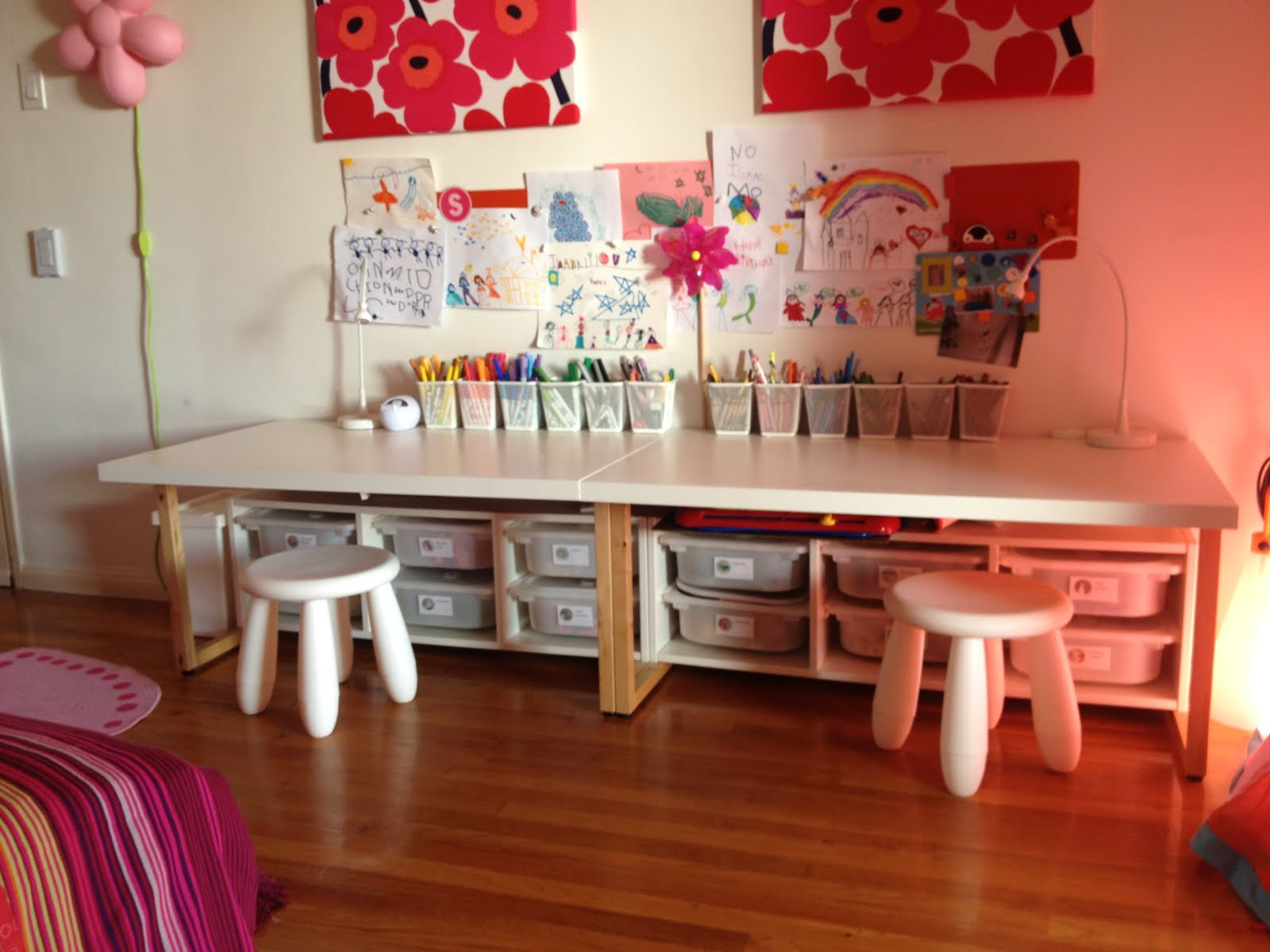 Toddler desks IKEA Hackers IKEA Hackers