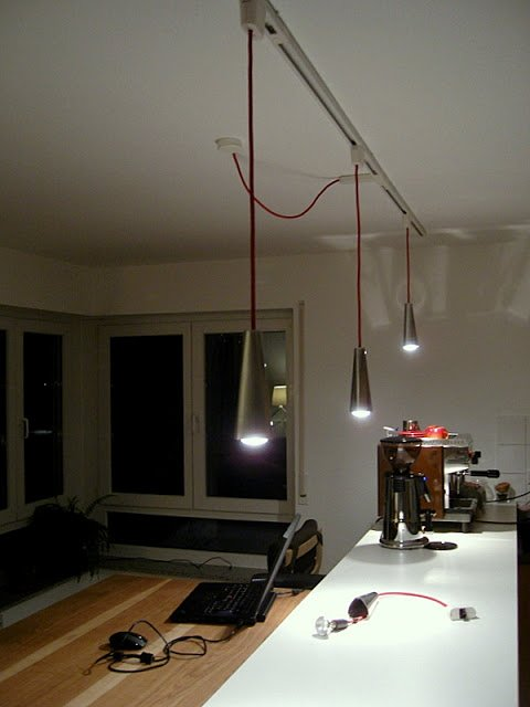 Electrified candle-holder lamp