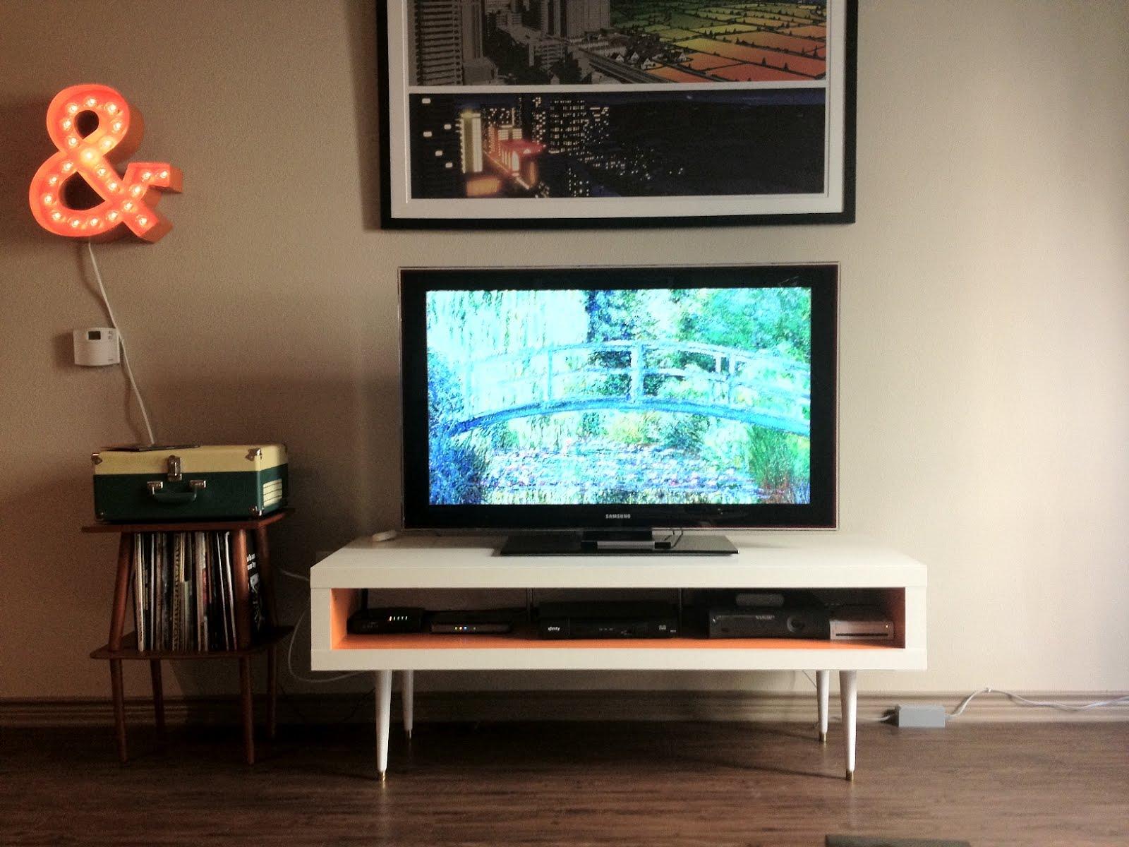 Mid Century Lack TV Hack IKEA Hackers IKEA Hackers